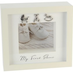 Bambino First Shoes Photoframe found on Bargain Bro UK from Ernest Jones UK