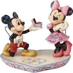 Disney Traditions A Magical Moment Mickey & Minnie Figurine found on Bargain Bro UK from H Samuel