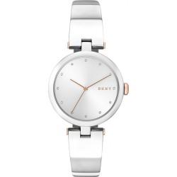 DKNY Dama Ladies' Stainless Steel Bracelet Watch found on Bargain Bro UK from Ernest Jones UK