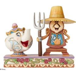 Disney Traditions Cogsworth & Mrs Potts Figurine found on Bargain Bro from H Samuel for £40
