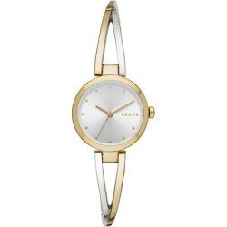 DKNY Crosswalk Ladies' Two Tone Bracelet Watch found on Bargain Bro UK from Ernest Jones UK