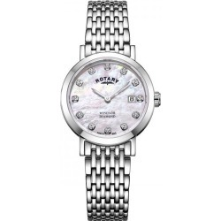 Rotary Ladies' Windsor Pink Mother Of Pearl Dial Watch found on Bargain Bro UK from Ernest Jones UK