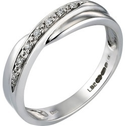 9ct White Gold Diamond Wedding Ring found on MODAPINS from H Samuel for USD $563.61