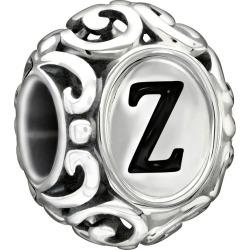 Chamilia Sterling Silver Letter Z Bead found on Bargain Bro UK from Ernest Jones UK