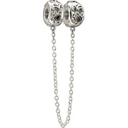 Chamilia Sterling Silver Filigree Safety Chain found on Bargain Bro UK from Ernest Jones UK
