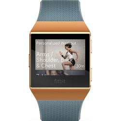 Fitbit Ionic Blue/Orange Smart Watch found on Bargain Bro UK from H Samuel