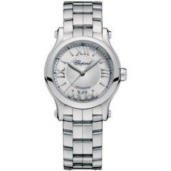 Chopard Happy Sport Ladies' Stainless Steel Bracelet Watch found on MODAPINS from Ernest Jones UK for USD $7662.41
