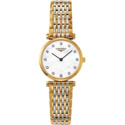 Longines La Grande Classique Ladies Diamond Two Colour Watch found on MODAPINS from Ernest Jones UK for USD $1553.06