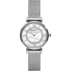 Emporio Armani Ladies' Stainless Steel Mesh Bracelet Watch