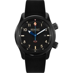 Bremont U-2 Men's Black Leather Strap Watch found on MODAPINS from Ernest Jones UK for USD $5030.09