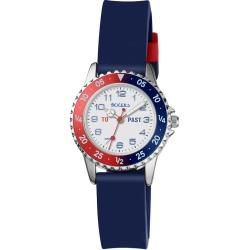 Blue Silicone Strap Time Teacher Watch found on Bargain Bro UK from H Samuel