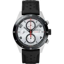 Montblanc Timewalker Men's Black Leather Strap Watch found on MODAPINS from Ernest Jones UK for USD $3065.83