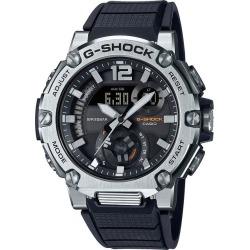 Casio G-Steel Men's Black Resin Strap Watch