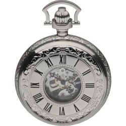 Double Half Opening Hunter Pocket Watch found on Bargain Bro UK from H Samuel