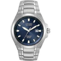Citizen Eco-Drive Super Titanium Men's Bracelet Watch found on Bargain Bro UK from H Samuel