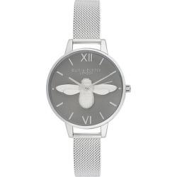 Olivia Burton Ladies' 3D Bee Stainless Steel Bracelet Watch found on Bargain Bro UK from Ernest Jones UK
