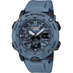 Casio G-Shock Men's Blue Resin Strap Watch found on Bargain Bro UK from H Samuel