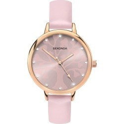 Sekonda Editions Ladies' Tree Of Life Design Pink Watch found on Bargain Bro from H Samuel for £30