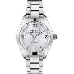 Bremont Solo-34 Ladies' Stainless Steel Bracelet Watch found on MODAPINS from Ernest Jones UK for USD $4126.88