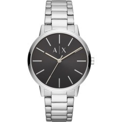 Armani Exchange Silver Stainless Steel Bracelet Watch found on Bargain Bro UK from H Samuel