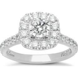 3b1b1eeb4 Neil Lane 14ct white gold 1.50ct diamond halo ring found on Bargain Bro UK  from