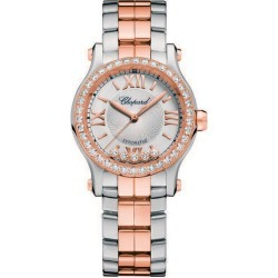 Chopard Happy Sport Ladies' Two Colour Bracelet Watch found on MODAPINS from Ernest Jones UK for USD $21093.86