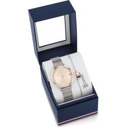 Tommy Hilfiger Pippa Two Tone Watch & Bracelet Gift Set found on Bargain Bro UK from Ernest Jones UK