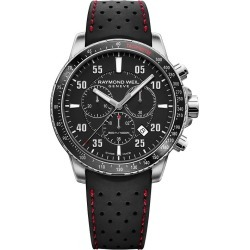 Raymond Weil Tango Men's Chronograph Black Strap Watch
