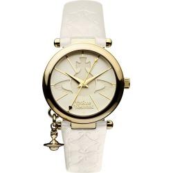 Vivienne Westwood Ladies' Gold Plated Orb Strap Watch found on Bargain Bro UK from Ernest Jones UK