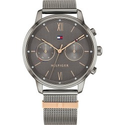Tommy Hilfiger Blake Stainless Steel Mesh Bracelet Watch found on Bargain Bro UK from H Samuel