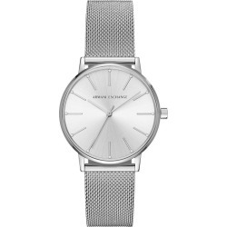 Armani Exchange Ladies' Stainless Steel Mesh Bracelet Watch found on Bargain Bro UK from H Samuel