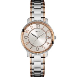 Guess Ladies' Two-Tone Bracelet Watch found on Bargain Bro UK from H Samuel
