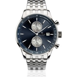 Accurist Men's Chronograph Stainless Steel Bracelet Watch found on Bargain Bro UK from H Samuel