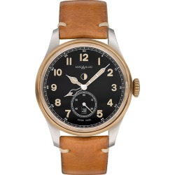 Montblanc 1858 Automatic Men's Tan Leather Strap Watch found on MODAPINS from Ernest Jones UK for USD $3801.63