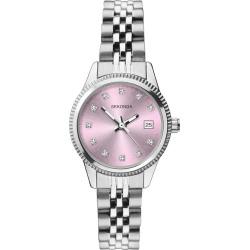 Sekonda Ladies' Crystal Stainless Steel Bracelet Watch found on Bargain Bro from H Samuel for £20