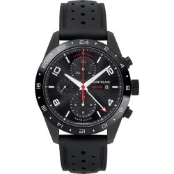 Montblanc Timewalker Men's Black Leather Strap Watch found on MODAPINS from Ernest Jones UK for USD $5702.77