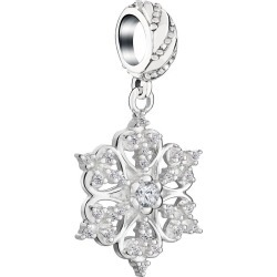 Chamilia Sterling Silver 2016 Brilliance Snowflake Charm found on Bargain Bro UK from Ernest Jones UK