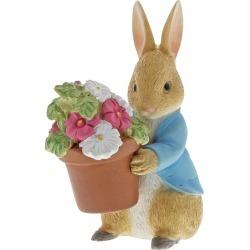 Peter Rabbit Brings Flowers Figurine found on Bargain Bro UK from H Samuel