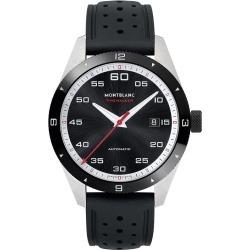 Montblanc Timewalker Men's Black Rubber Strap Watch found on MODAPINS from Ernest Jones UK for USD $3097.64