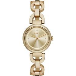 DKNY Eastside Ladies' Yellow Gold Plated Bracelet Watch found on Bargain Bro UK from Ernest Jones UK