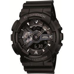 Casio G-Shock Men's Black Rubber Strap Watch found on Bargain Bro UK from H Samuel