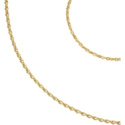 9ct Yellow Gold Rope Chain Bracelet & Necklace Gift Set found on Bargain Bro UK from H Samuel