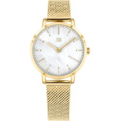 Tommy Hilfiger Lily Ladies' Gold Plated Bracelet Watch found on Bargain Bro UK from Ernest Jones UK