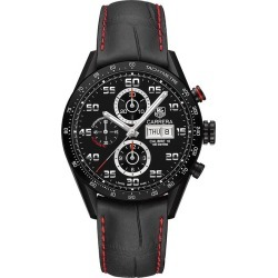 TAG Heuer Carrera men's ion-plated black watch found on MODAPINS from Ernest Jones UK for USD $5267.10