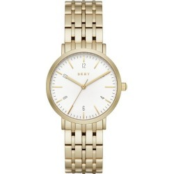 DKNY Ladies' Gold Plated Bracelet Watch found on Bargain Bro UK from H Samuel