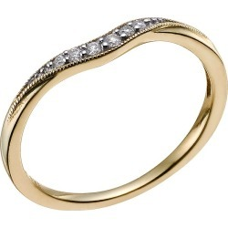 9ct Yellow Gold Diamond Shaped Wedding Ring found on MODAPINS from H Samuel for USD $286.82