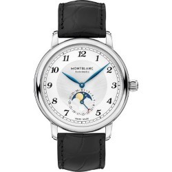 Montblanc Star Legacy Men's Black Leather Strap Watch found on MODAPINS from Ernest Jones UK for USD $4542.77