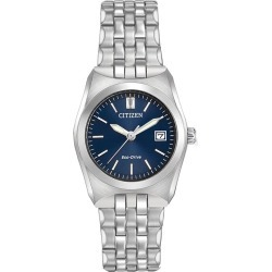 Citizen Ladies' Eco Drive Corso Stainless Steel Watch found on Bargain Bro UK from Ernest Jones UK