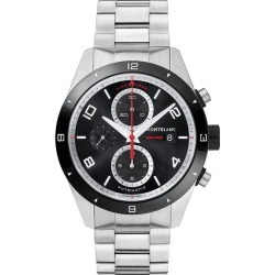 Montblanc Timewalker Men's Stainless Steel Bracelet Watch found on MODAPINS from Ernest Jones UK for USD $3249.78