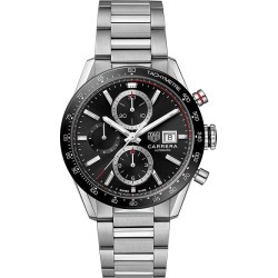 TAG Heuer Carrera Men's Stainless Steel Bracelet Watch found on MODAPINS from Ernest Jones UK for USD $4925.12